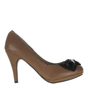 reducere Pantofi dama khaki Natalia, cel mai mic pret
