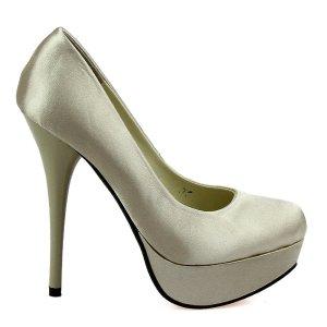 reducere Pantofi dama Freya bej sampanie, cel mai mic pret