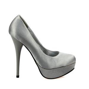 reducere Pantofi dama Freya argintii, cel mai mic pret