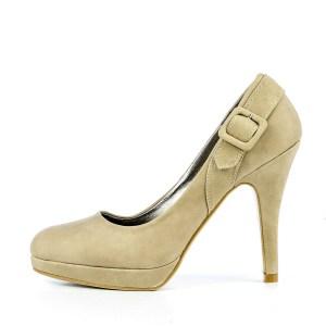 reducere Pantofi dama Elvira khaki, cel mai mic pret