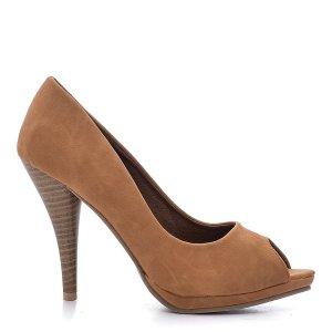 reducere Pantofi dama Kristen camel, cel mai mic pret
