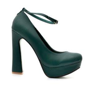 reducere Pantofi dama Kitana verzi, cel mai mic pret