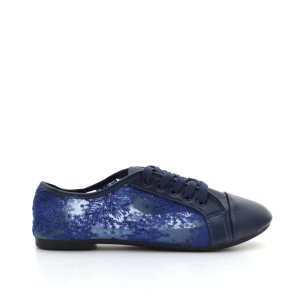 reducere Pantofi dama June albastri, cel mai mic pret