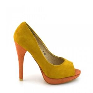 reducere Pantofi dama Maddy galbeni, cel mai mic pret