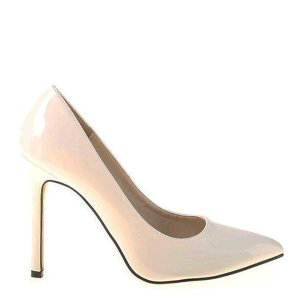 reducere Pantofi dama Eugenia albi, cel mai mic pret