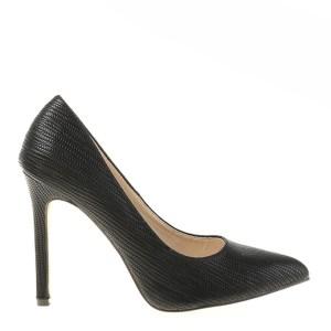 reducere Pantofi dama Gratiene negri, cel mai mic pret