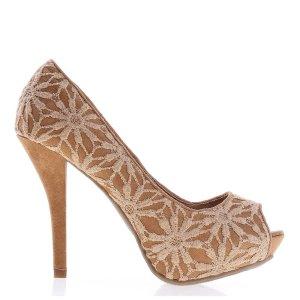 reducere Pantofi dama Joyce camel, cel mai mic pret