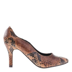 reducere Pantofi dama Clara camel, cel mai mic pret