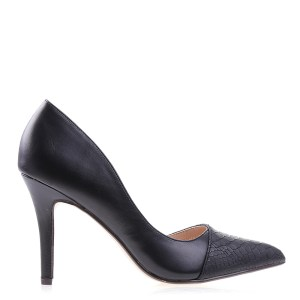 reducere Pantofi dama Jami negri, cel mai mic pret