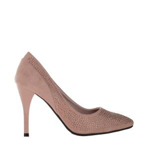 reducere Pantofi dama Janette bej, cel mai mic pret
