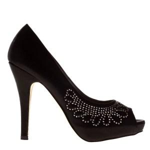 reducere Pantofi dama Kori negri, cel mai mic pret