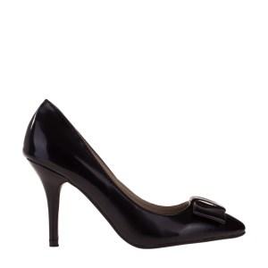 reducere Pantofi dama Kitty negri, cel mai mic pret