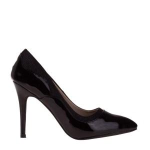reducere Pantofi dama Catriona negri, cel mai mic pret
