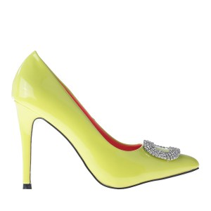 reducere Pantofi dama Amarylis galbeni, cel mai mic pret