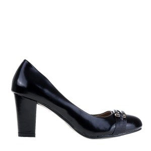 reducere Pantofi dama Kinley negri, cel mai mic pret