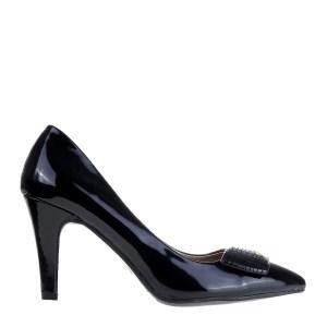 reducere Pantofi dama Ward negri, cel mai mic pret