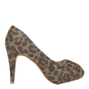 reducere Pantofi dama Ebha aurii, cel mai mic pret