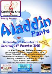 Aladdin Panto
