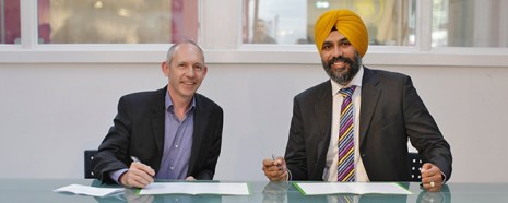 Kala Sangam and Bradford College commit to working together