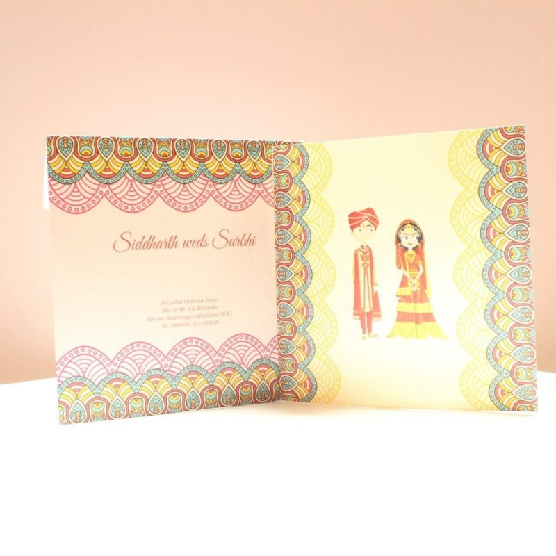 KL2006S1L WEDDING INVITATION CARD 3