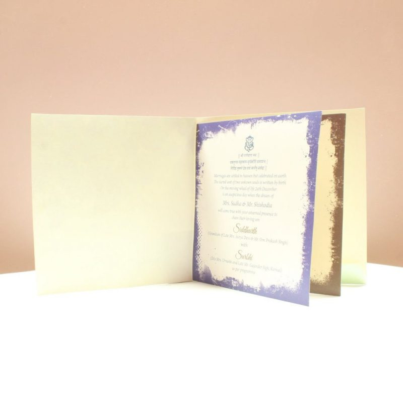 KL2042S1L WEDDING INVITATION CARD 2