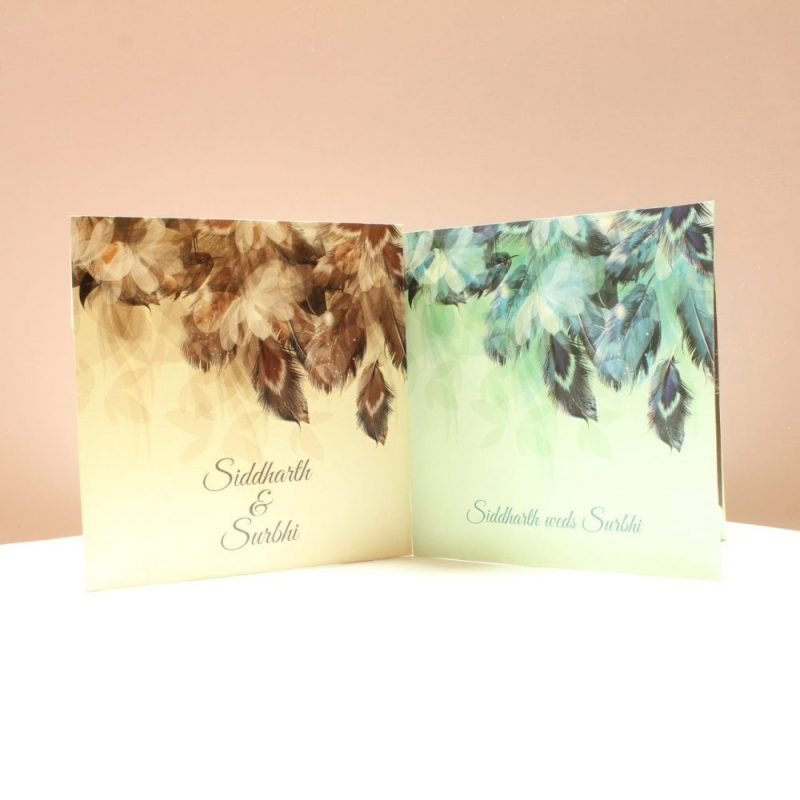 KL2042S1L WEDDING INVITATION CARD 3