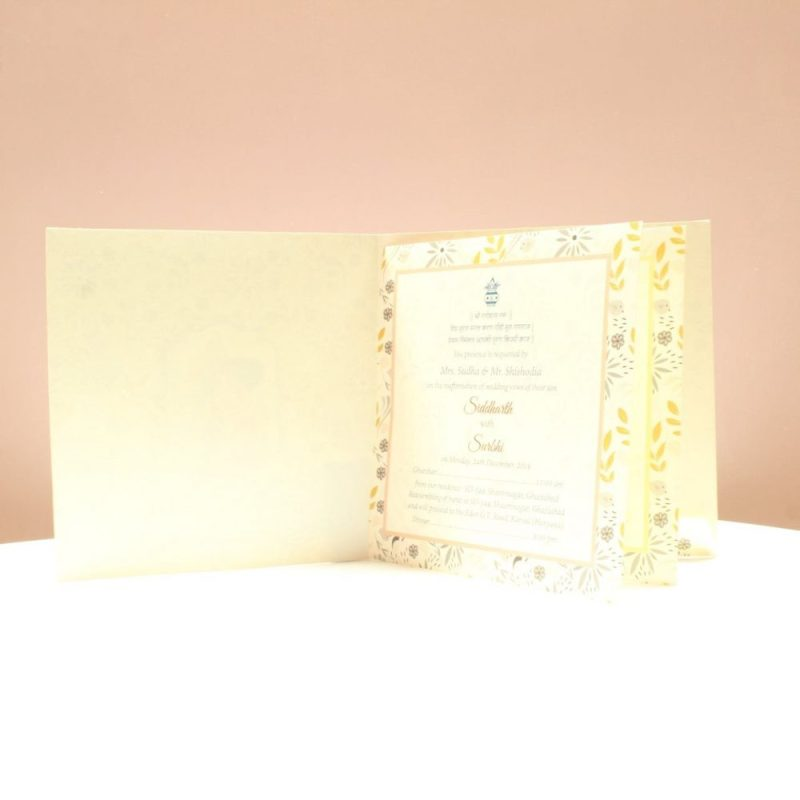 KL2053S1L WEDDING INVITATION CARD 2
