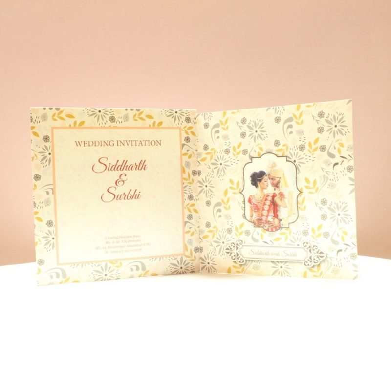 KL2053S1L WEDDING INVITATION CARD 3