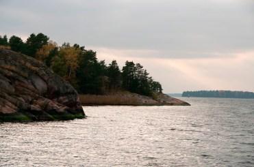 Saaristomeri syksyn partaalla