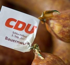 Impressionen: Traditionelles CDU Schlachtfest 2017
