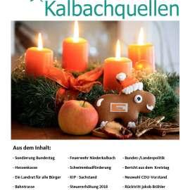 Kalbachquellen zu Weihnachten erschienen