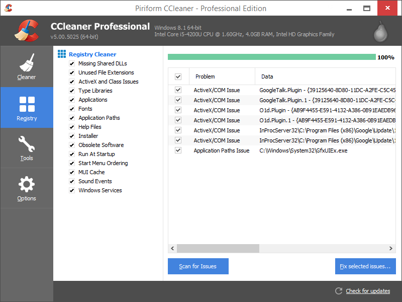 CCleaner - The best software for cleaning the entire windows 10 operating system | lateweb.info