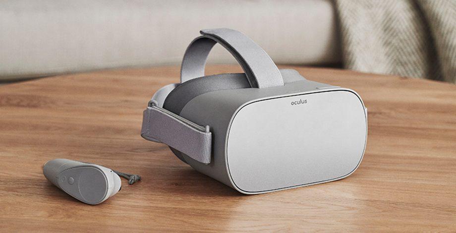 Самостоятелният VR шлем Oculus Go трябва да бъде пуснат относително