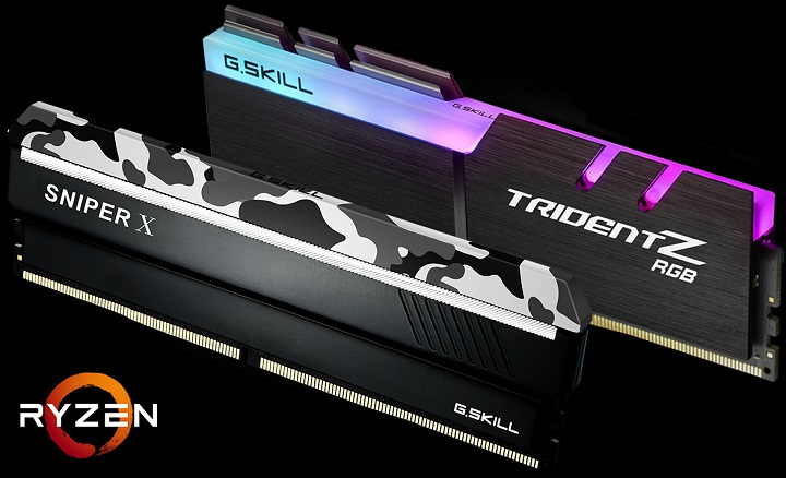Известният производител на високоскоростна оперативна памет, тайванската компания G. Skill