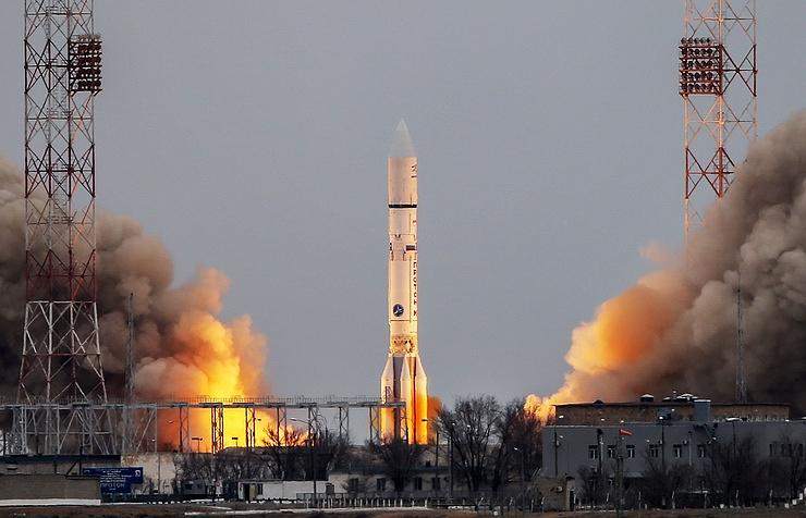 Тази нощ от космодрума Байконур в Казахстан бе изстреляна ракетата-носител