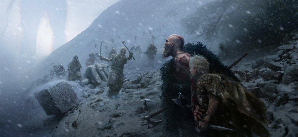 Дейвид Джафи създаде God of War. Кори Балрог затвърди титаничния