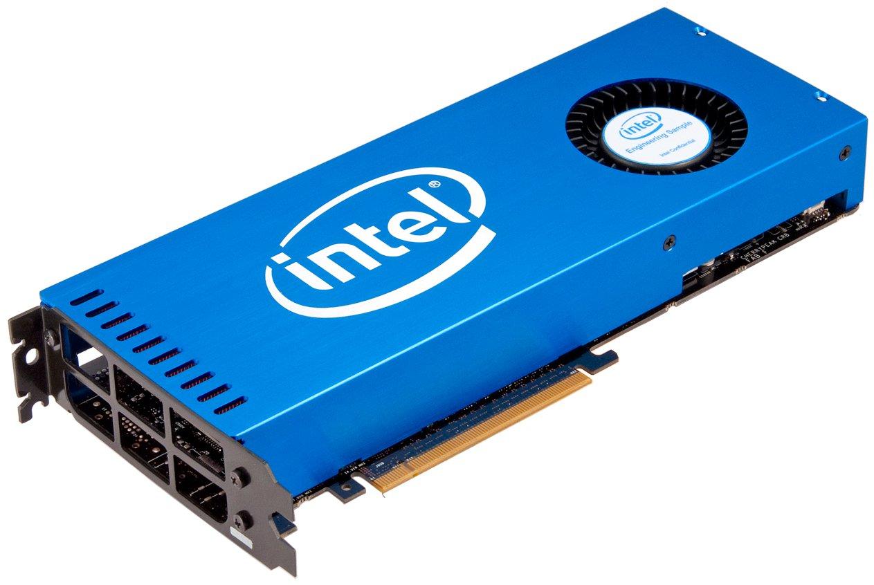 Forbes съобщи, че Intel активно разработва собствени външни видеокарти, предназначени