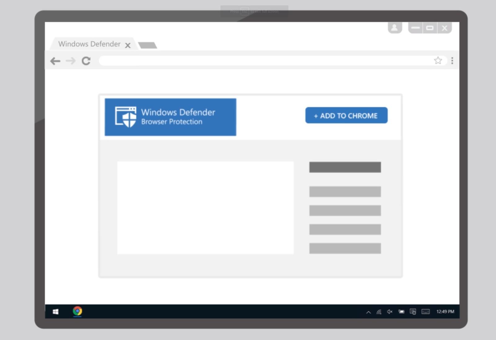 Microsoft последва примера на други доставчици на антивирусна защита, представяйки