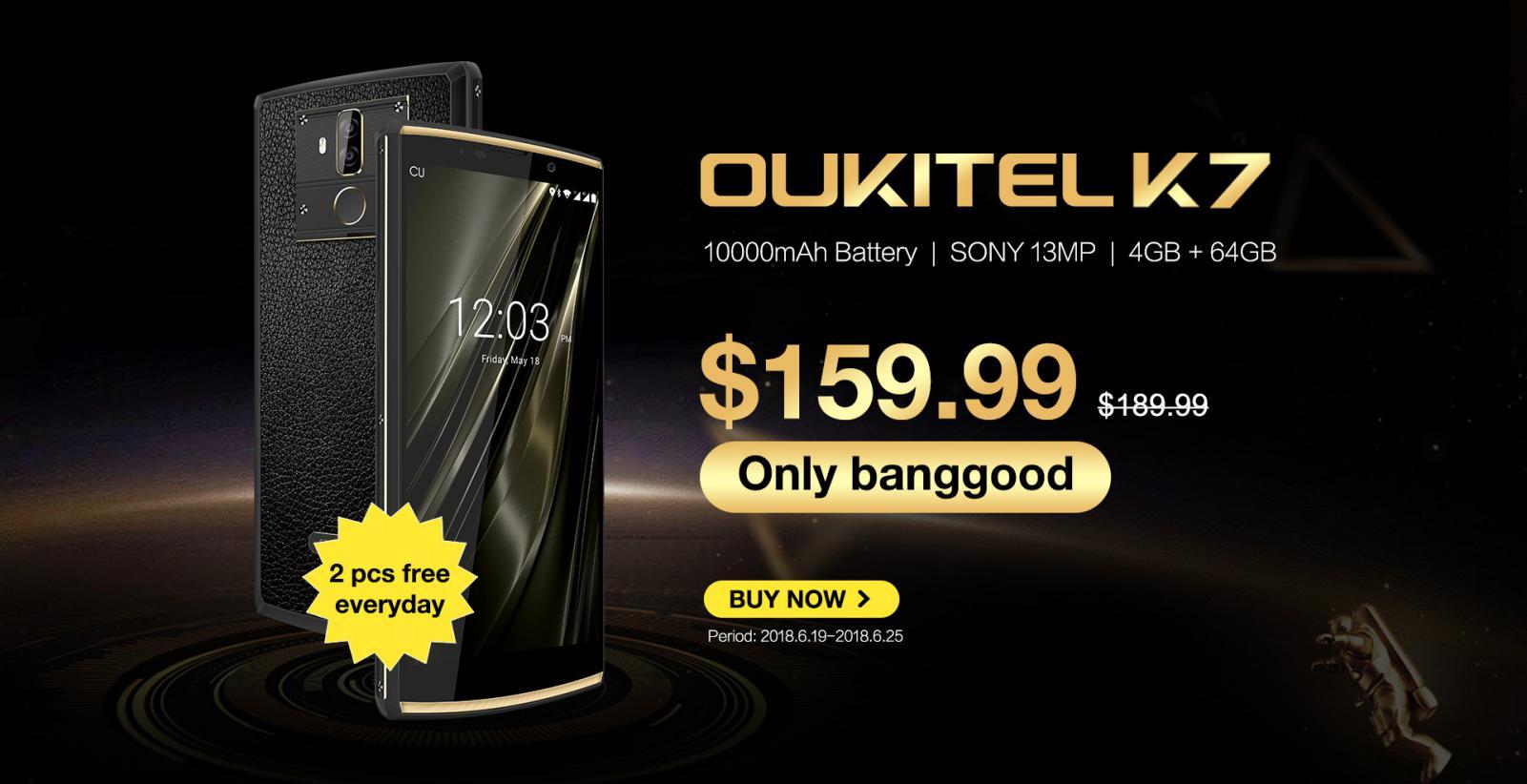 OUKITEL е известен преди всичко със своите смартфони с мощни