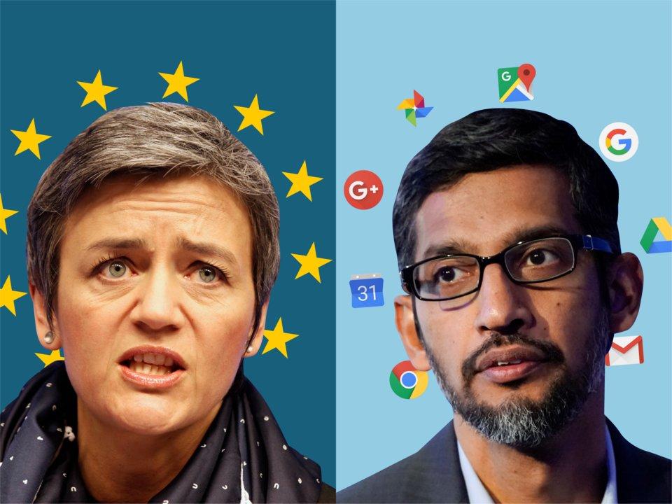 Европейската комисия глоби американската корпорация Google с невиждана към днешен