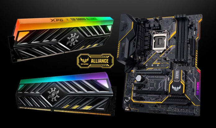 Deepcool  Adata      TUF Gaming Alliance
