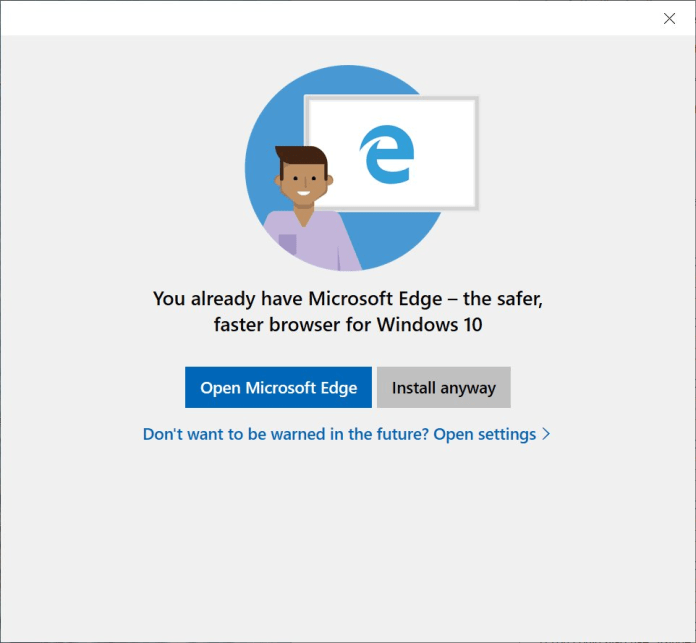Преди няколко дни видяхме, че Microsoft продължава да пречи на