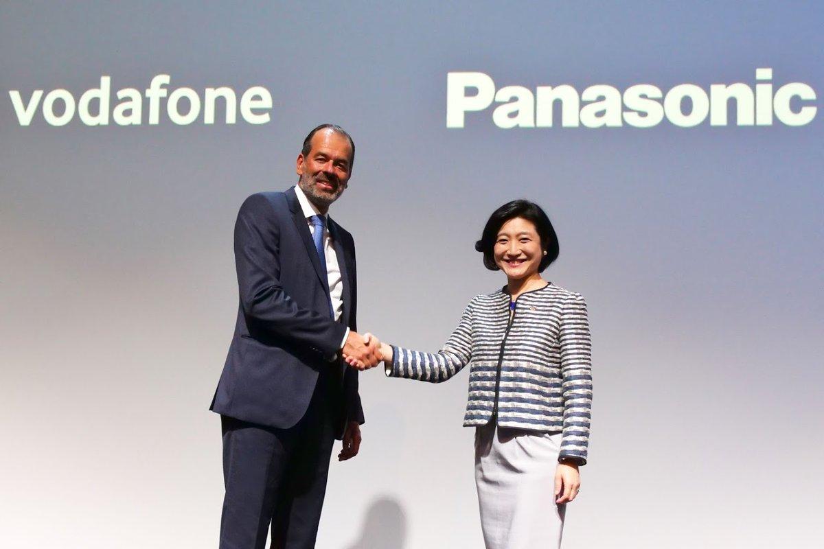 Panasonic Corporation и Vodafone обявиха сключването на споразумение за сътрудничество