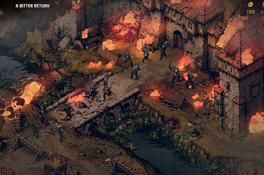 CD Projekt Red разкри първото геймплей видео от Thronebreaker: The