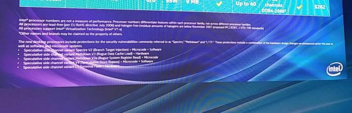 Intel  9-   Meltdown  Spectre
