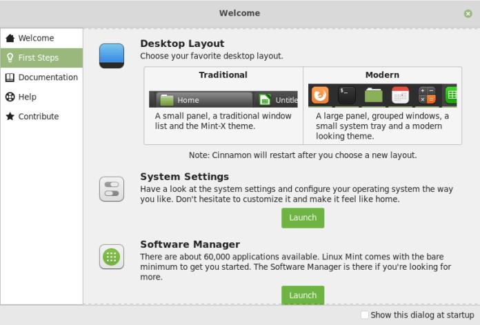 Linux Mint 19.1 Tessa