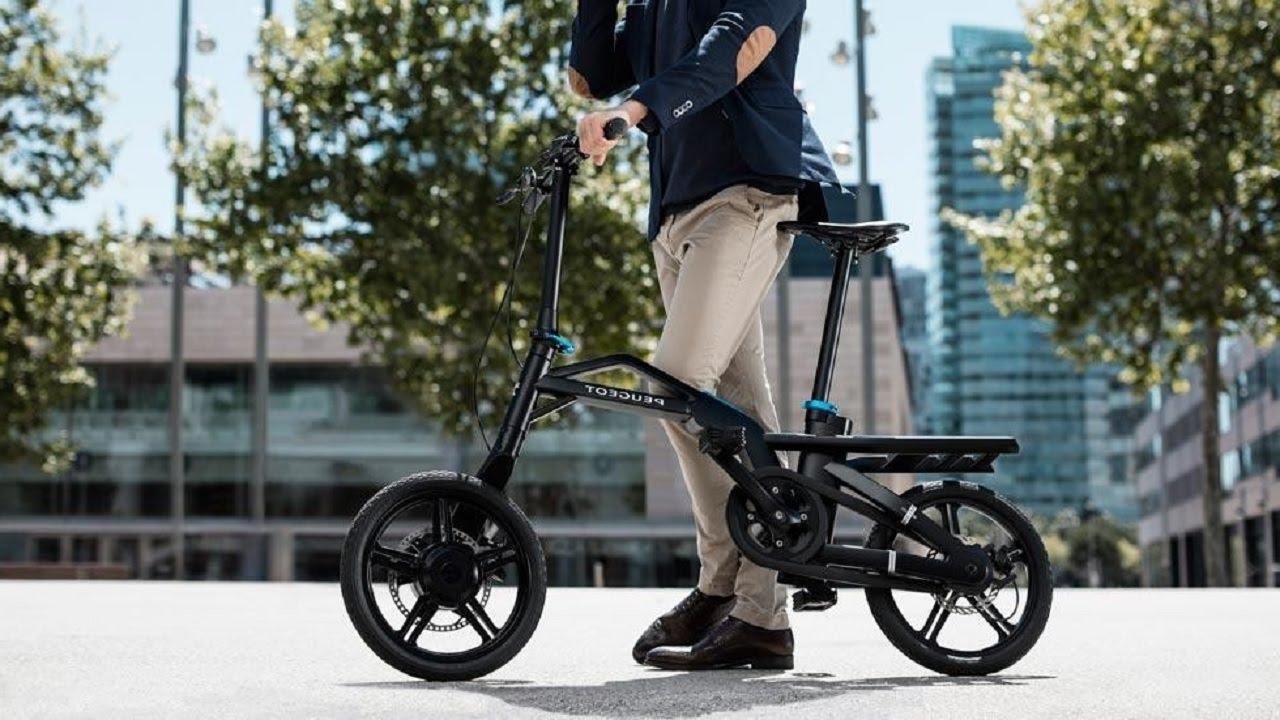 Френският институт за дизайн връчи отличието на сгъваемия електрически велосипед