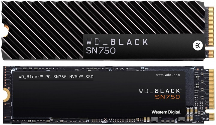Western Digital представи геймърските NVMe флаш дискове WD Black SN75