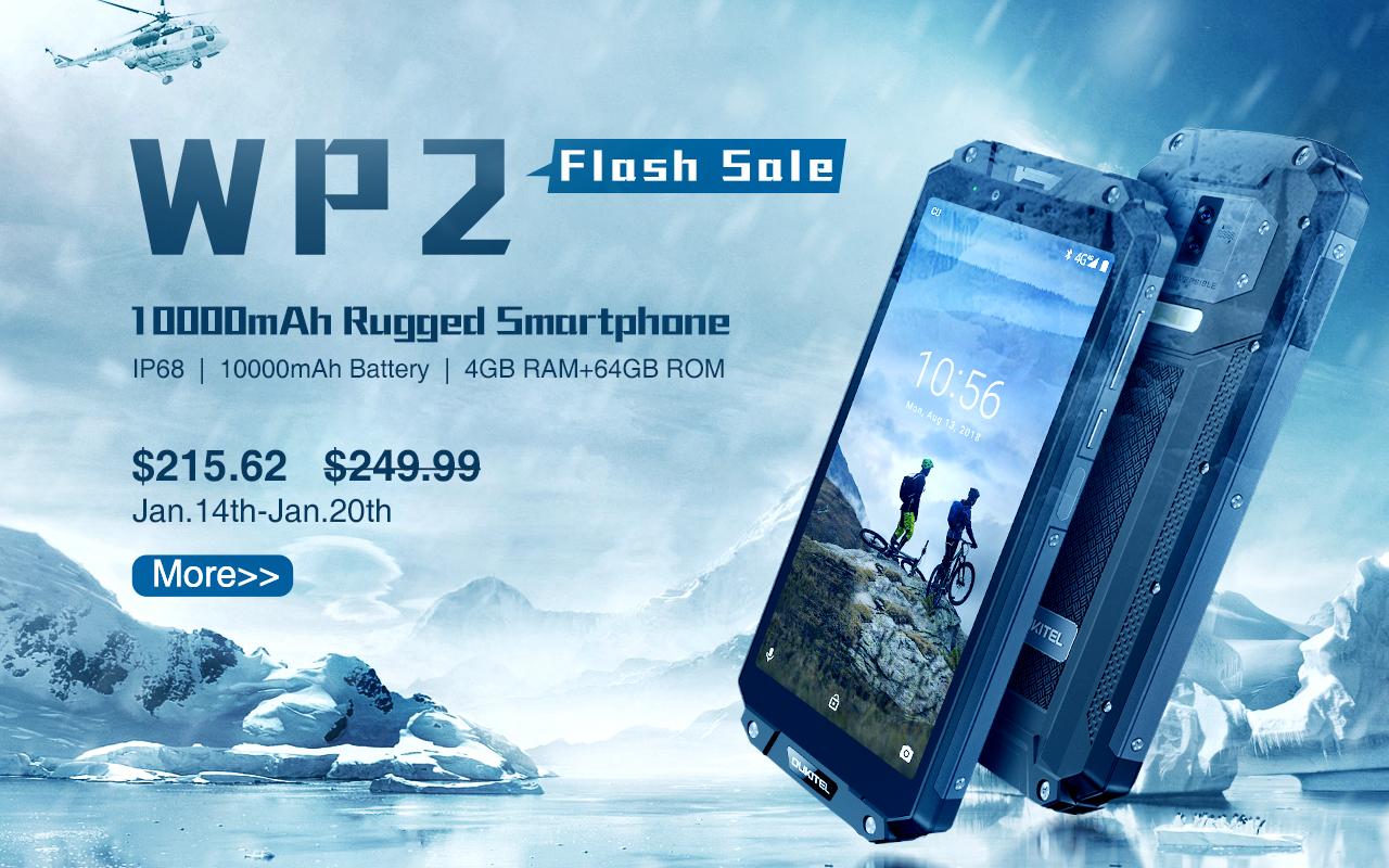 Снимка: Солидният OUKITEL WP2 с 10 000 mAh батерия се продава само за $215,62
