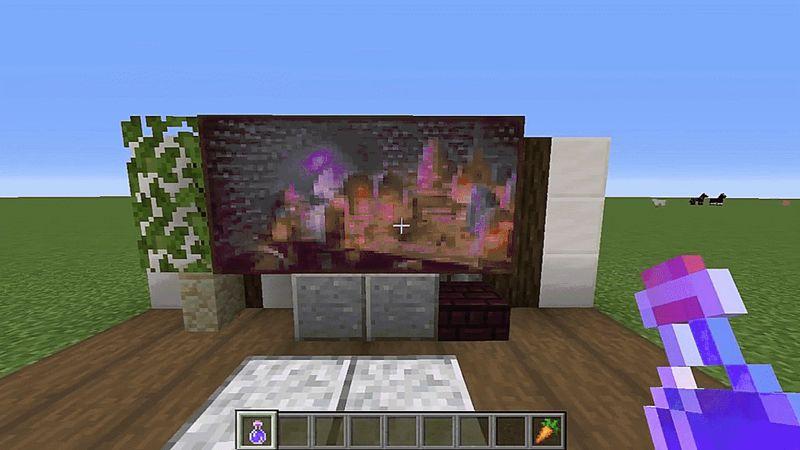 Снимка: След последния ъпдейт феновете правят телевизори в Minecraft